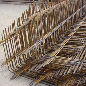 Bent mesh reinforcement A393 B1131 A252 A142 A252 A193 B785 B503 A193