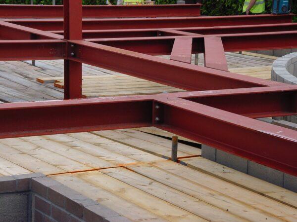 Primed structural steel fabrication metal fabricated welding welder EN 10025-1