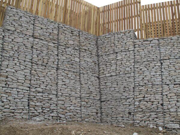 Gabion baskets retaining wall UK