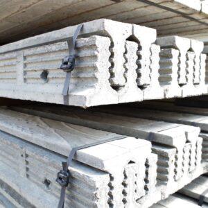 Kota flat top concrete screed rails 100mm 150mm